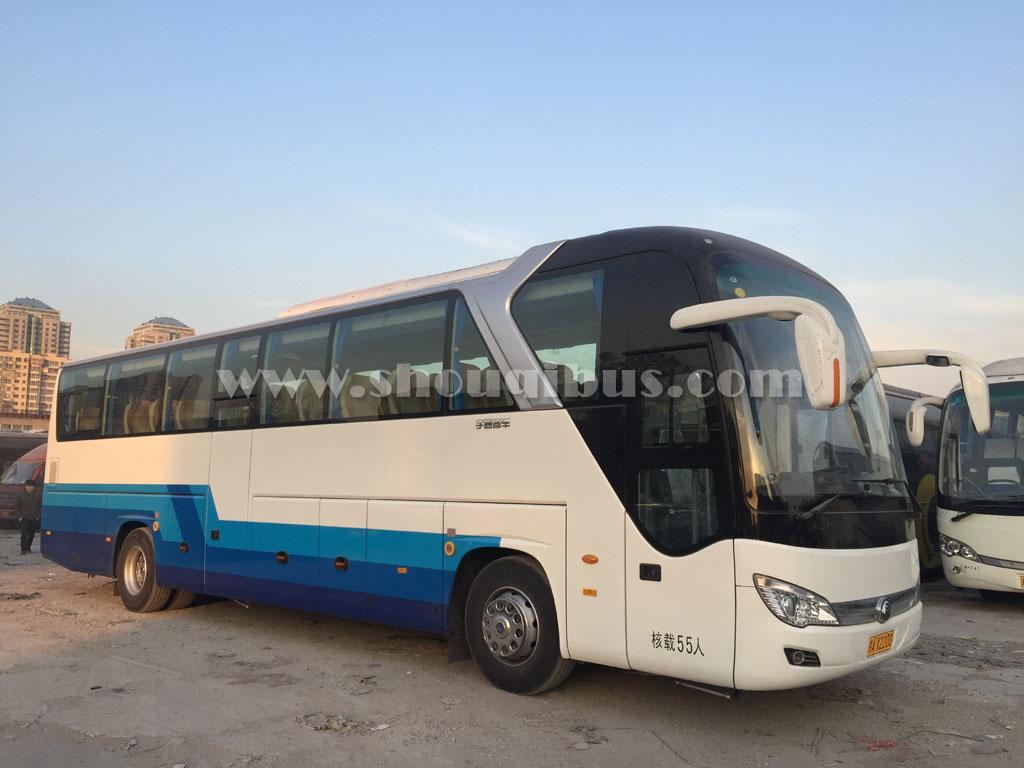 首汽22-55座旅游巴士租赁(配司机)