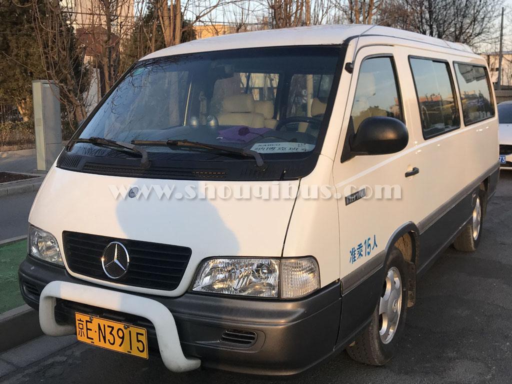 首汽小型巴士:14座奔驰MB100