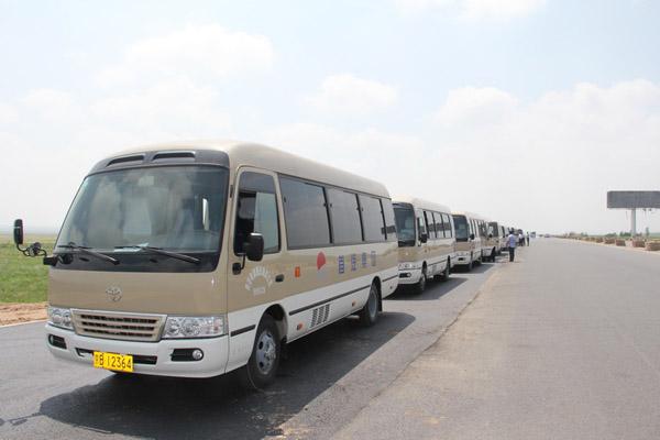 首汽巴旅承接第七届中国花卉博览会用车服务