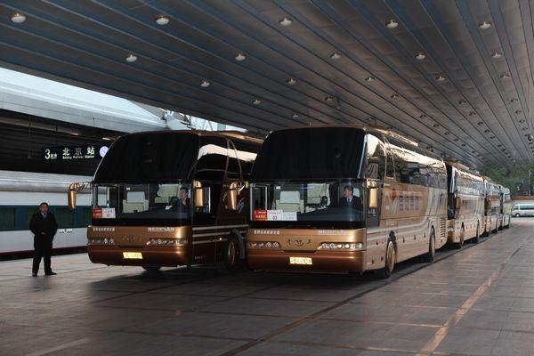 首汽巴士圆满完成全国台联台胞青年千人北京