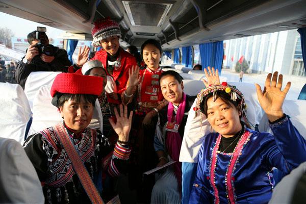 首汽巴士旅游公司交通组两会接机接站工作准确无误完成