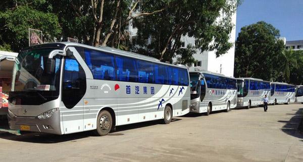 首汽巴士旅游公司圆满完成A1汽车大奖赛会务用车任务