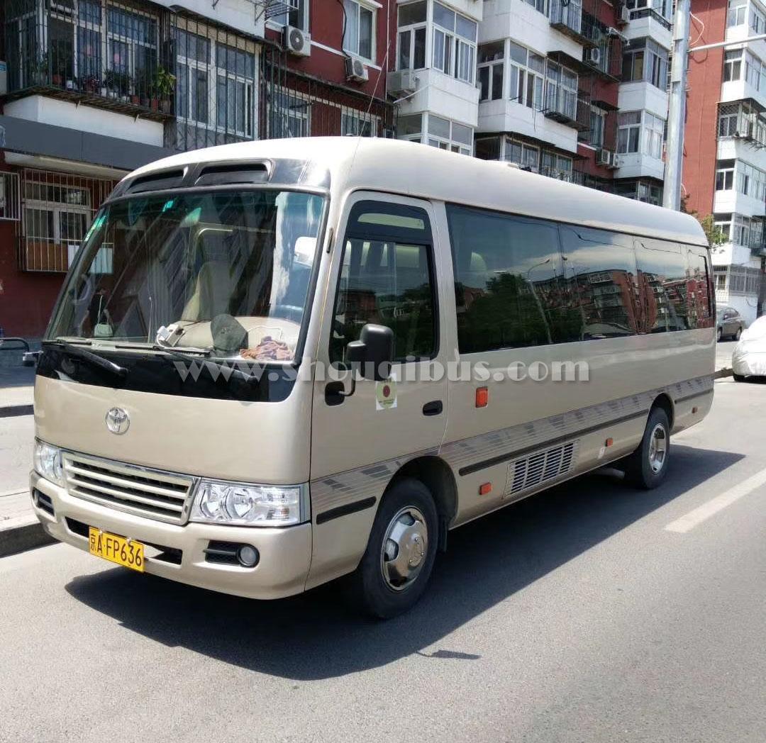 北京22座考斯特中巴包车一天多少钱?