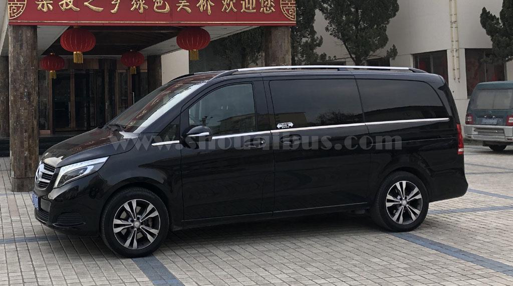 北京7座奔驰V系列商务车租一天多少钱?