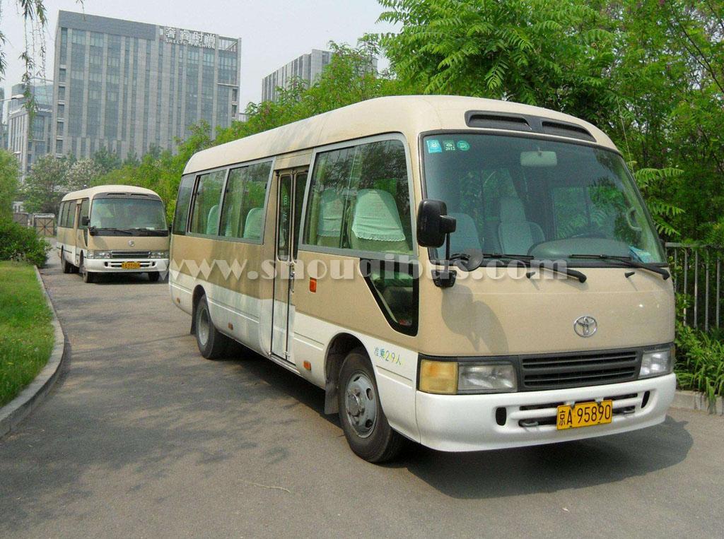 北京租车:23-28座位丰田考斯特
