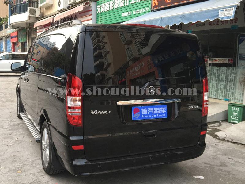 北京奔驰7座唯雅诺商务车租车价格