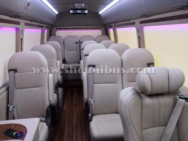 北京考斯特豪华商务车租车