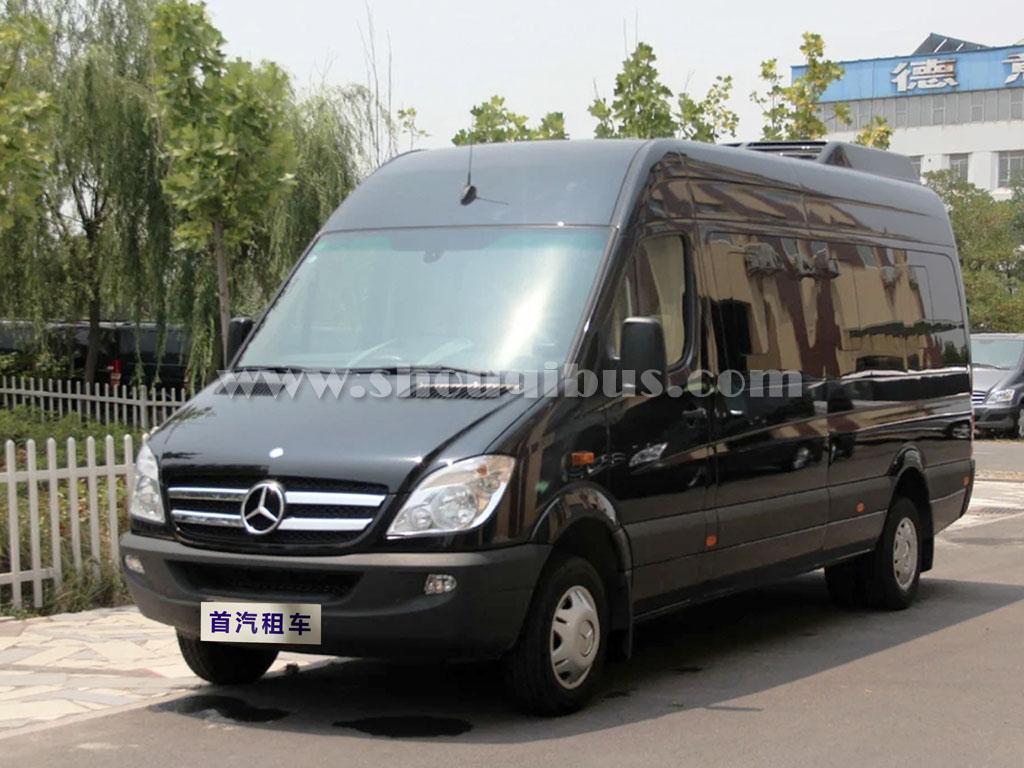 北京18座奔驰凌特商务车租赁