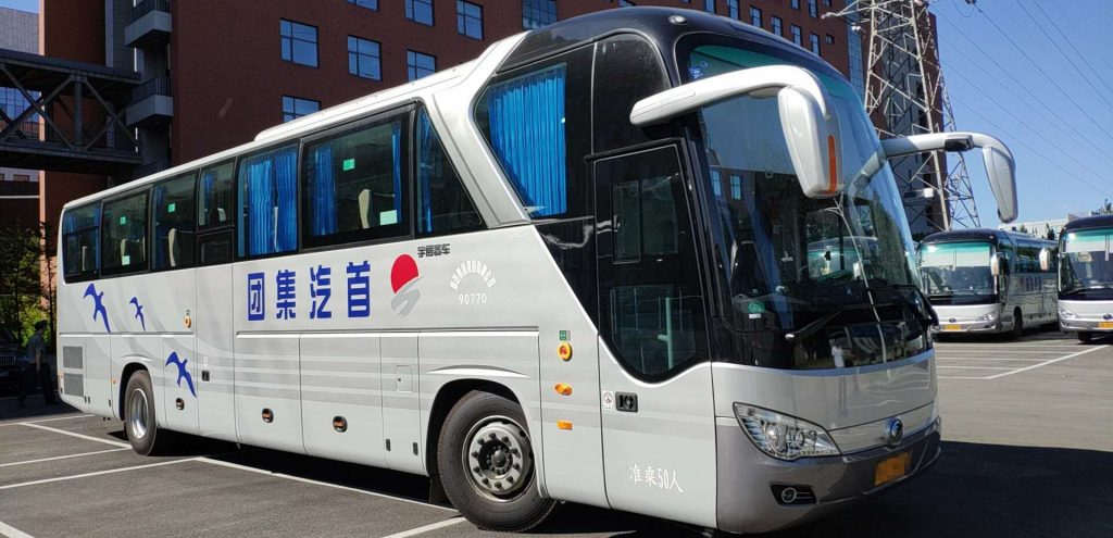 首约巴士:53座旅游车租赁价格