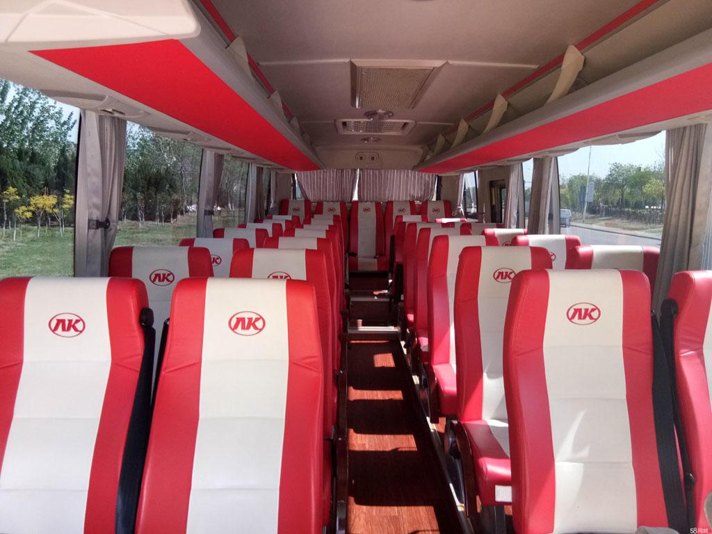 北京45座安凯大巴租赁