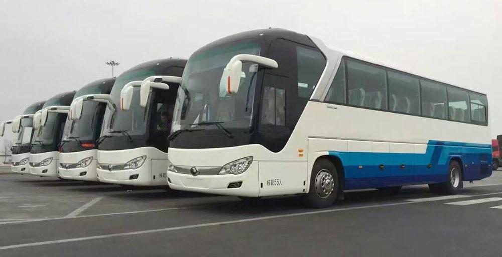 北京大巴车租赁包车一天多少钱?