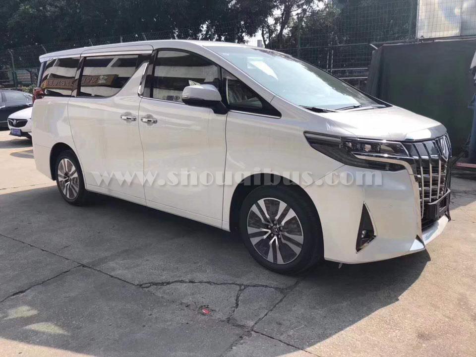 北京丰田埃尔法商务车出租价格表