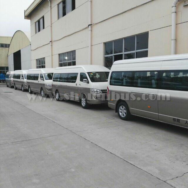 北汽集团15-17座海狮租车