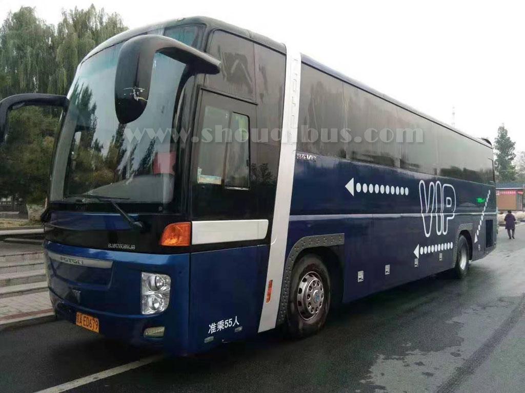 北京租大巴车配备专职司机