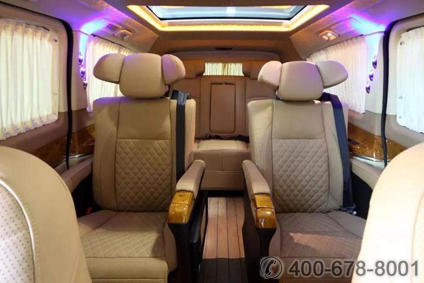 北京企业专业奔驰接待用车 新款隐藏九座斯宾特