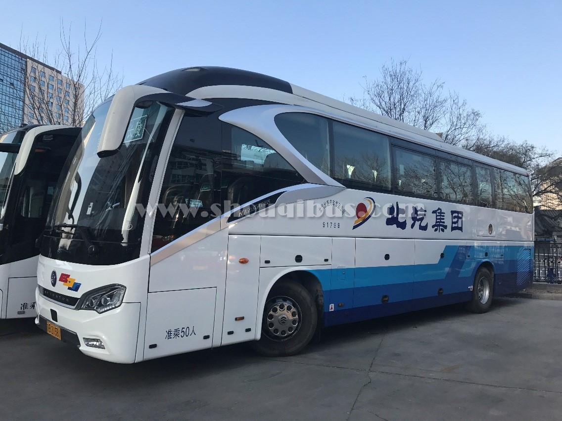 北汽大巴车租赁报价单(33-53座)