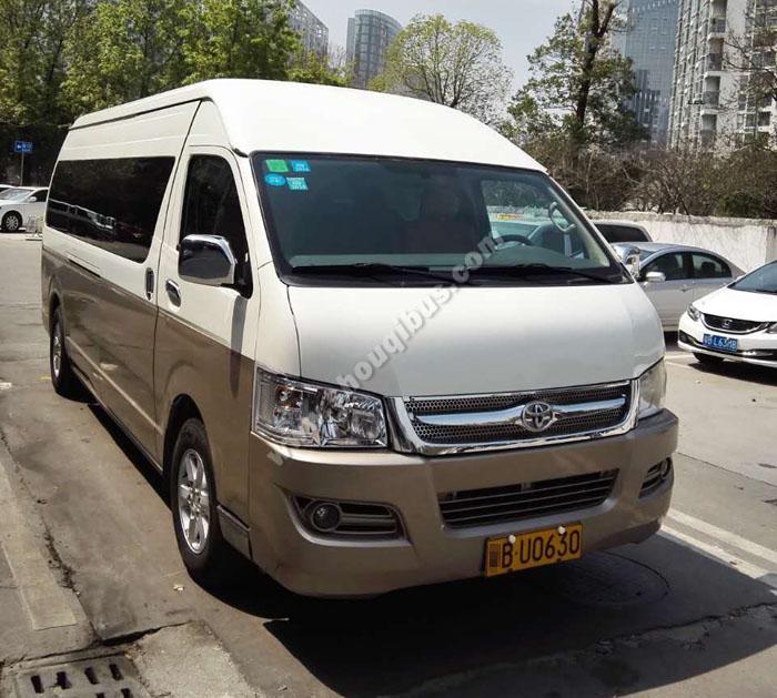 北京首汽巴士推荐中端车辆-14座九龙商务车