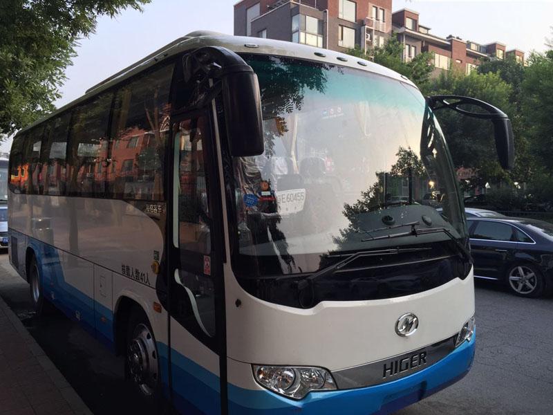 北京首汽旅游车大巴车:41座海格HIGER