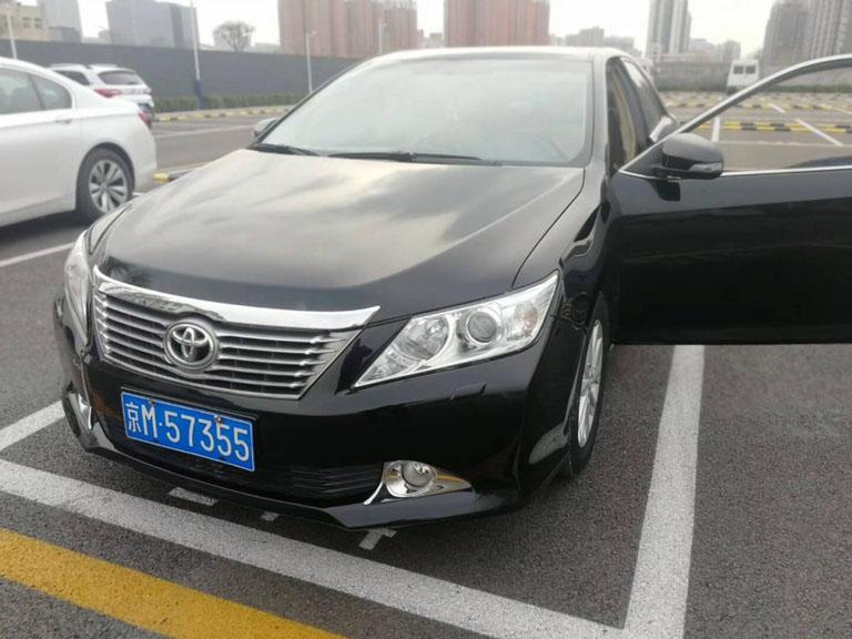 北京商务车租车:5座丰田凯美瑞