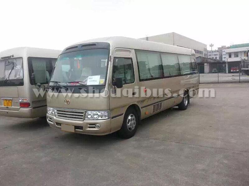 北京首汽约车包车:17-23座豪华考斯特中巴车