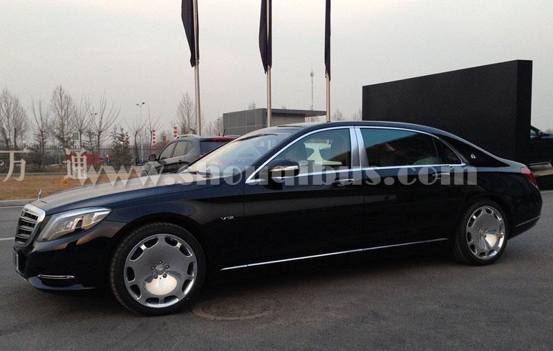 北京首汽约车日租:奔驰S600(5座)租车价格
