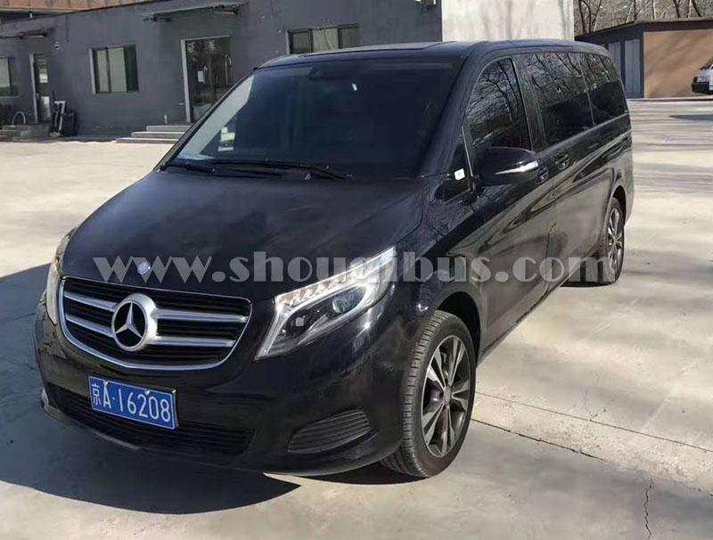 北京市内包车奔驰商务MPV租车价格