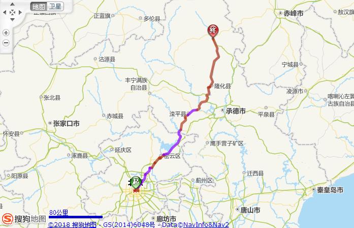 北京去围场坝上21座中巴包车多少钱,去围场坝上行车路线?