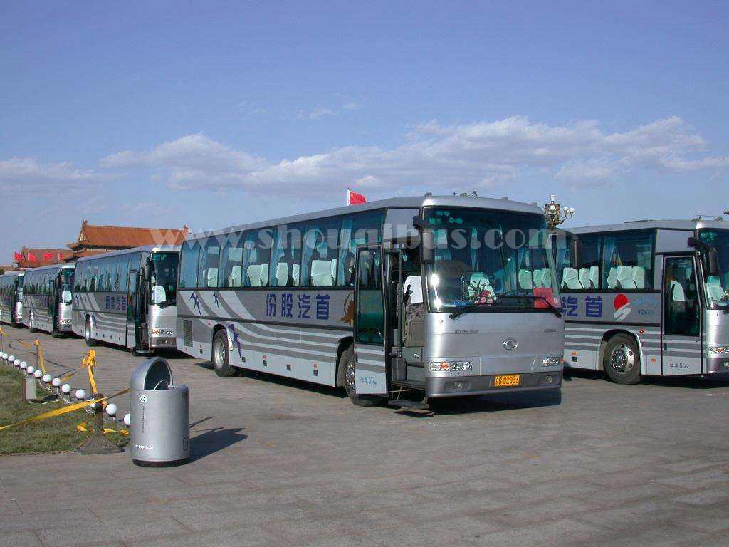 首汽52座金龙大巴包车_北京大巴车一天多少钱?