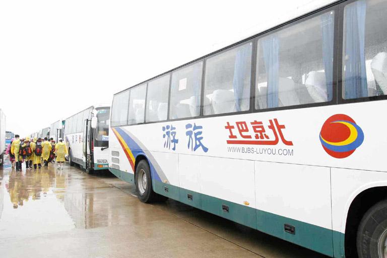 北京巴士旅游租车服务公司大巴车租赁价格表