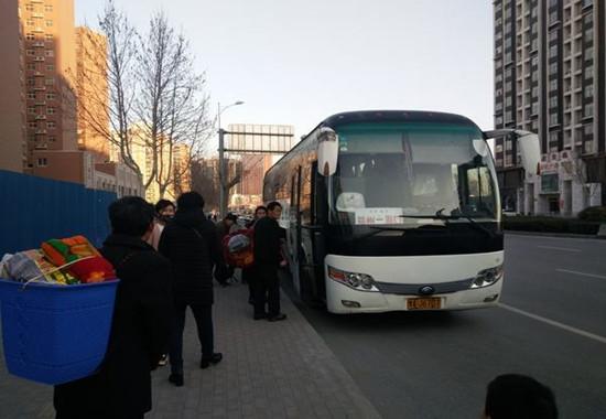 45人丰台体育馆去大兴东方时尚驾校包车(51座大巴)