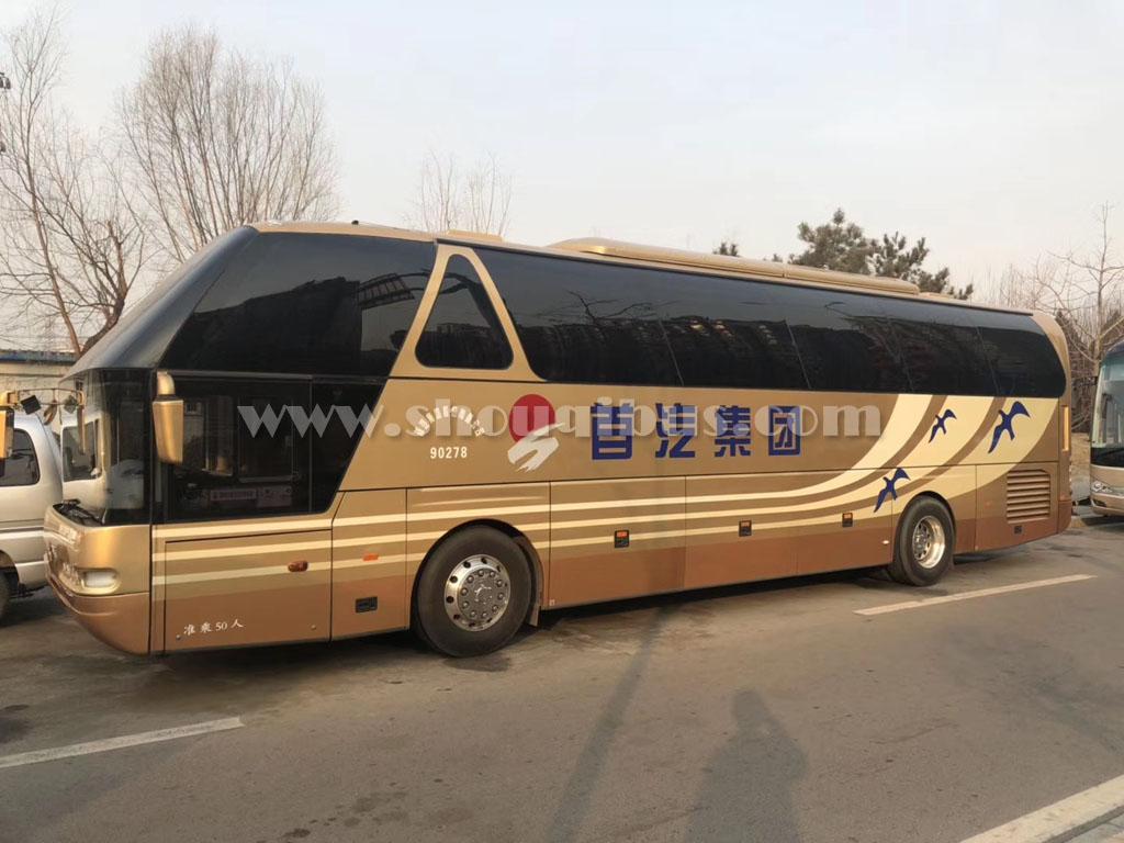 首汽大巴租车价格标准|55座青年客车:尼奥普兰