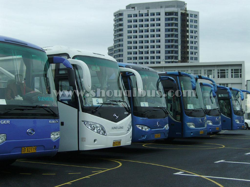 北京租大巴或考斯特商务车去房山多少钱?