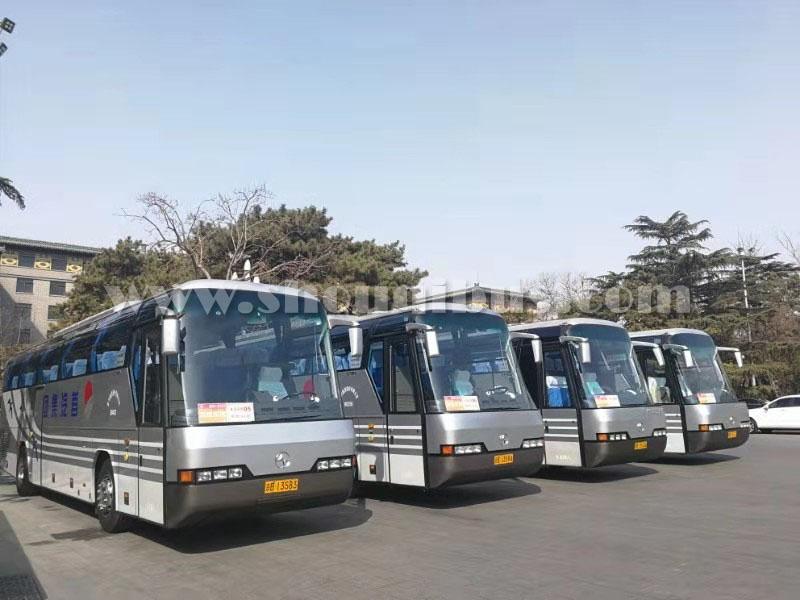 北京首汽55座大巴车4小时50公里内半日包车价格