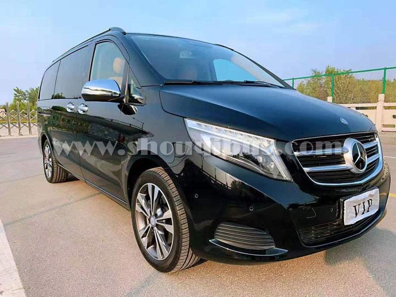 北京租7座豪华MPV商务V260出租包车费用是多少?