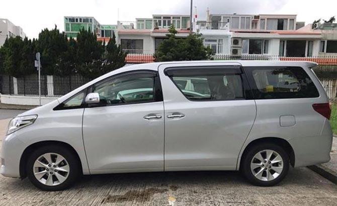 最新款丰田埃尔法MPV现车租赁_明星家庭专属MPV