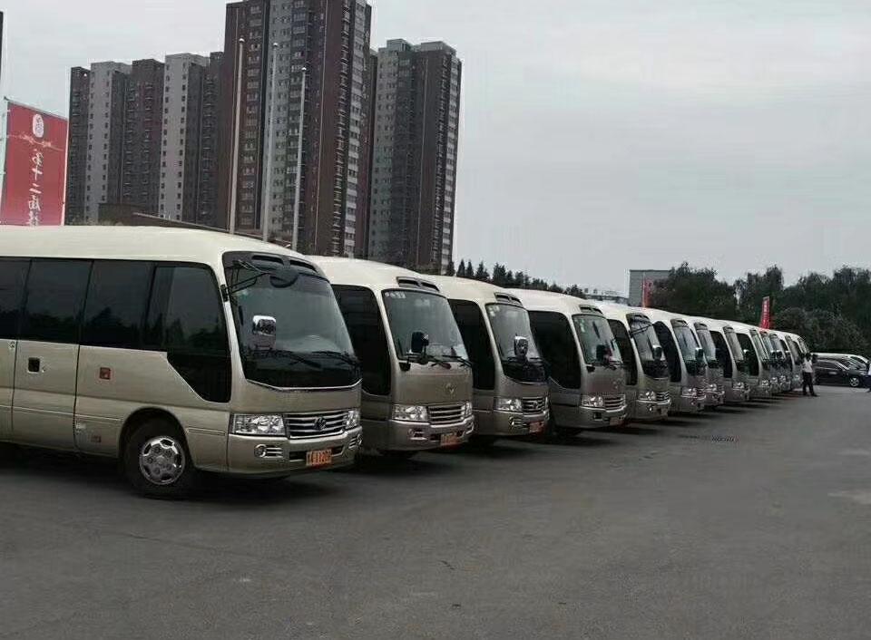 北京23座考斯特中巴接送站多少钱一趟?