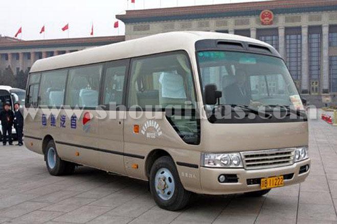 首都机场接送机车型- 23座金旅XML6700C