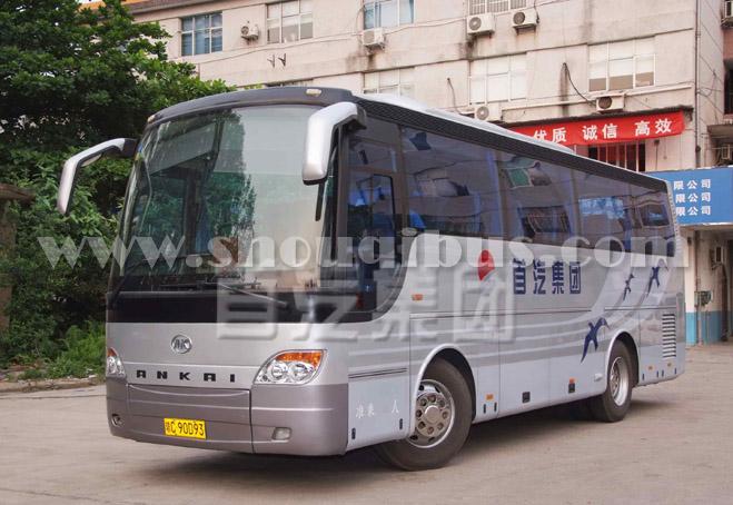 首汽38座中巴车:安凯HFF6902K55