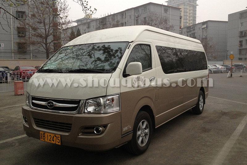 北京首汽14座丰田海狮包车带司机接送一般多少钱?