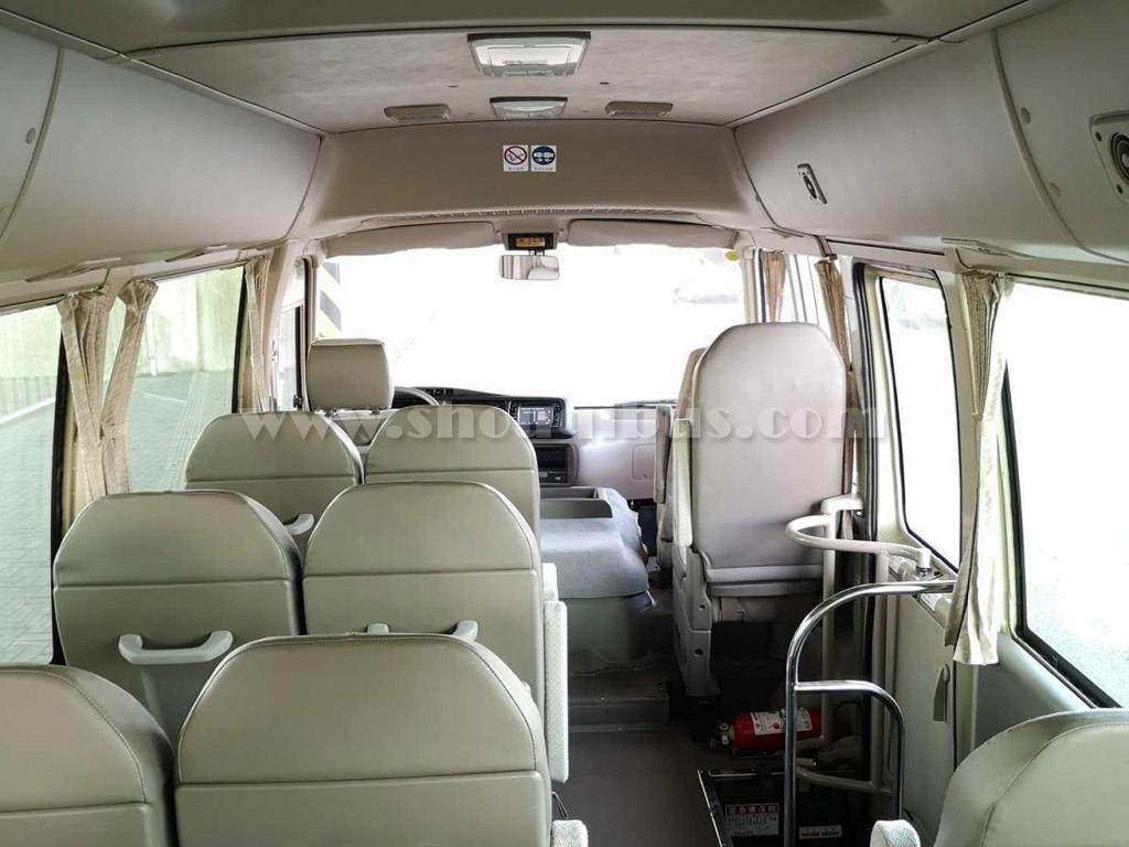 首汽巴士:23座丰田考斯特